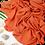 Thumbnail: Châle en Crepe Premium - Tangerine
