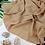 Thumbnail: Châle en Crepe Premium - Beige nude