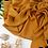 Thumbnail: Châle en Crepe Premium - Moutarde