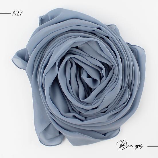 Chiffon Premium - Gris bleu