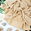 Thumbnail: Châle en Crepe Premium - Beige crème