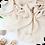Thumbnail: Châle en crêpe premium - Ecru