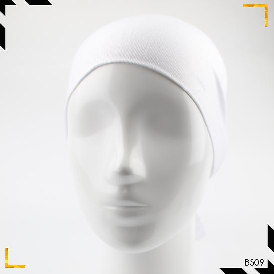 Bonnet underscarf simple - Blanc