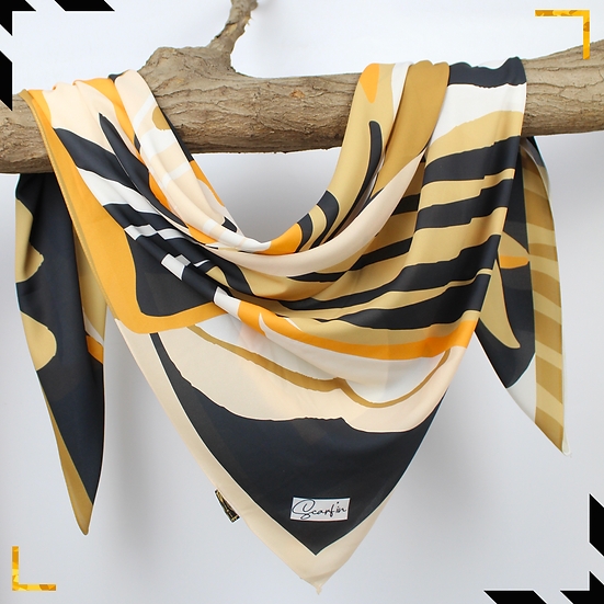 "Foulard ""Butterfly"" - Version 1"