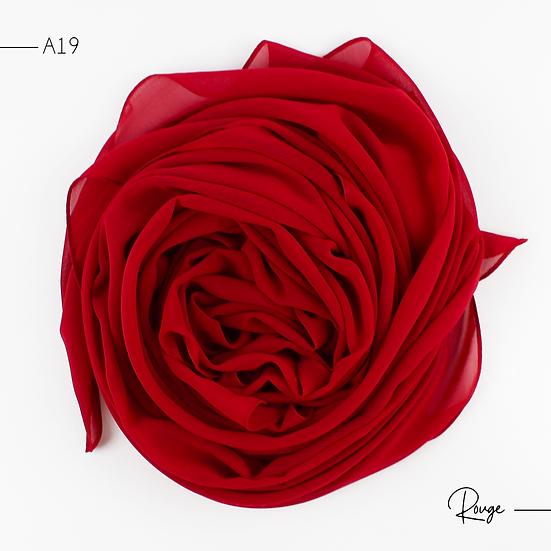 Chiffon Premium - Rouge