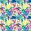 """Thumbnail: Châle """"Vividia"""" - Fushia et Bleu roi"""