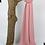 Thumbnail: Châle en Crêpe Premium - Rose dragée