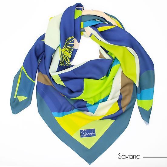 "Foulard ""Savana"" - Version 2"