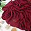Thumbnail: Châle en crêpe premium - Grenat