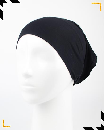 Bonnet tube - Noir