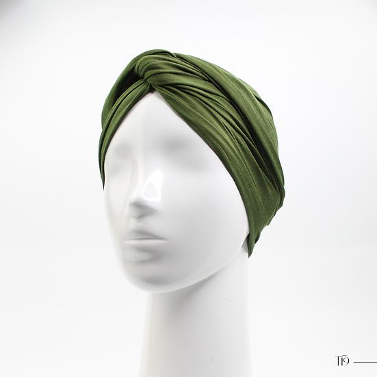 Turban - Vert kaki