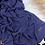 Thumbnail: Châle en crêpe premium - Bleu jeans