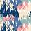 "Thumbnail: Châle ""Mounty"" - Bleu, vert pastel, rose et beige"
