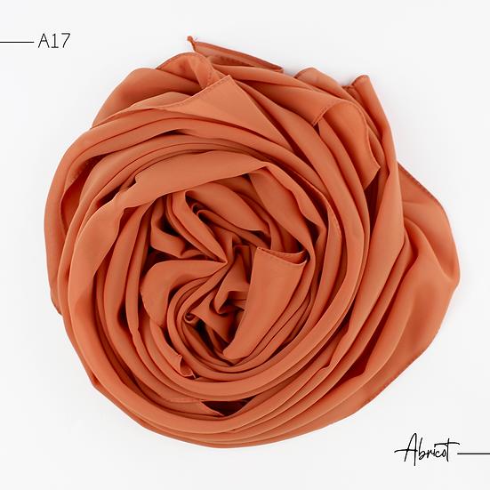 Chiffon Premium - Abricot