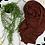 Thumbnail: Châle en jersey koweïtien - Chocolat