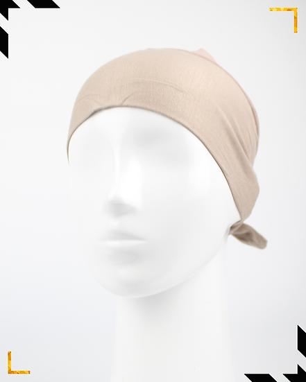 Bonnet underscarf simple - Mocha