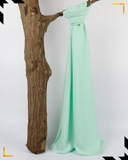 Châle en Crêpe Premium - Vert d'eau