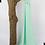 Thumbnail: Châle en Crêpe Premium - Vert d'eau