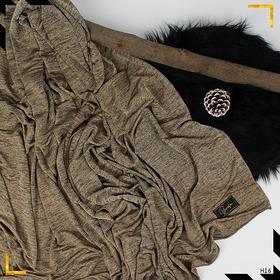 Châle en jersey chiné - Sable