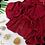 Thumbnail: Châle en crêpe Premium - Bordeaux