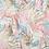 """Thumbnail: Châle """"Alicia"""" - Rose chair et vert amande"""