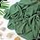 Thumbnail: Châle en Crepe Premium - Vert mousse