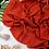 Thumbnail: Châle en Crepe Premium - Orange Feu