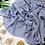 Thumbnail: Châle en crêpe premium - Azurin
