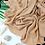 Thumbnail: Châle en crêpe premium - Beige chair