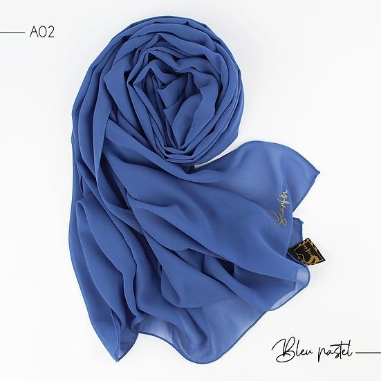 Chiffon Premium - Bleu pastel