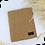 Thumbnail: Châle en jersey koweïtien - Beige moutarde