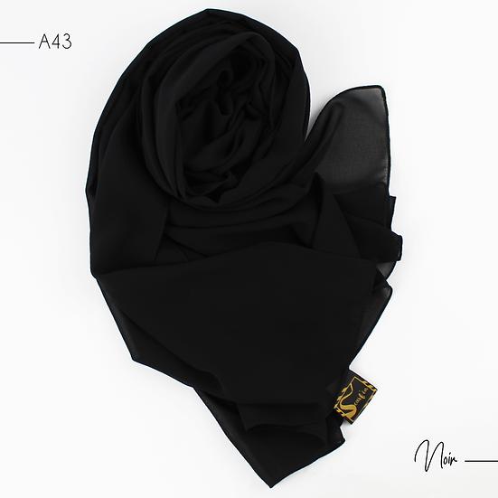 Chiffon Premium - Noir