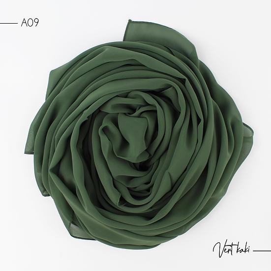 Chiffon Premium - Vert kaki