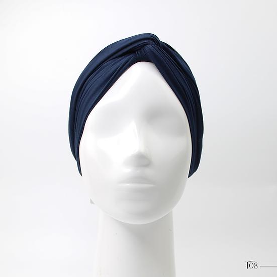 Turban - Bleu nuit