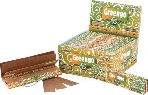 Greengo King Size Slim Papers & Tips