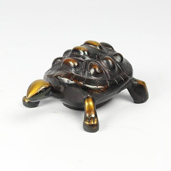 Brass Tortoise with Storage Compartment