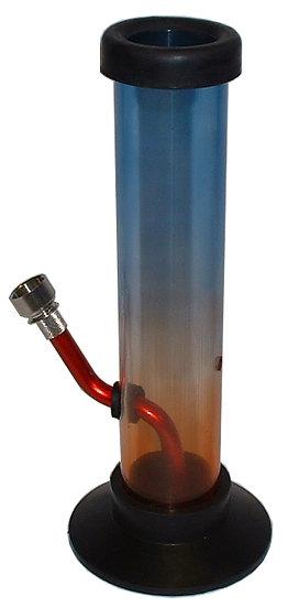 Straight Pipe Slim Acrylic Bong (9C)