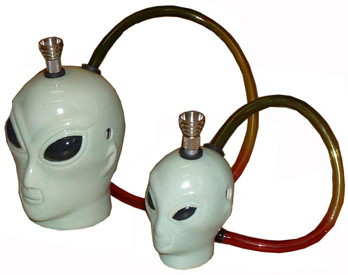 Ceramic Alien Head (Small)