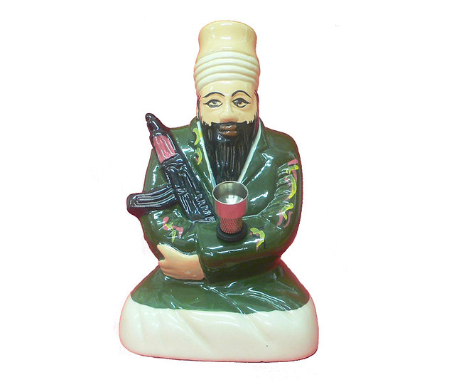 Osama 'Bong' Laden Premium Ceramic Bong