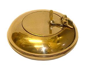 Brass Pocket Ashtrays