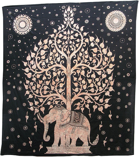 Tree Elephant Design (Double)
