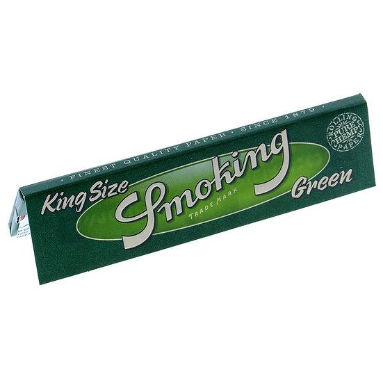 Smoking Green Hemp Kingsize Papers