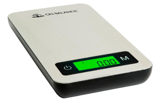 On Balance 100g Steel Scale
