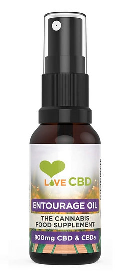 Love CBD ENTOURAGE CBD Oil (800mg)