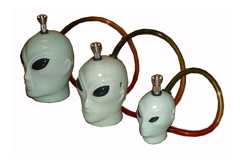 Ceramic Alien Head (Large)