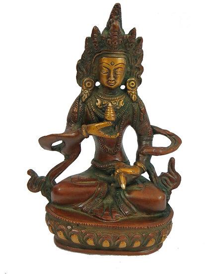 Brass Tara Statue (13cm/0.6kg)