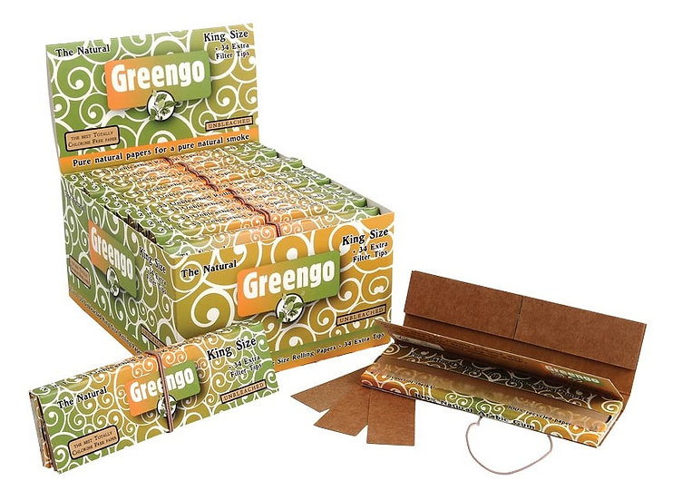 Greengo King Size Regular Papers & Tips