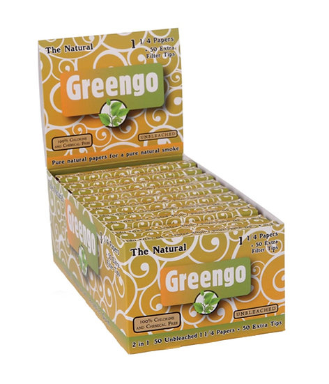 Greengo 1 1/4 Size Papers & Tips