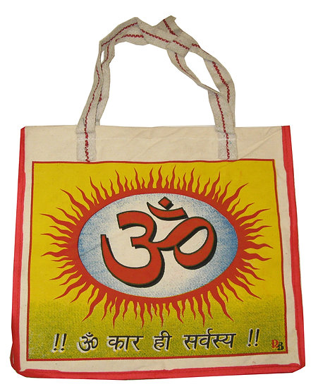 Large 'Om' Design Bag