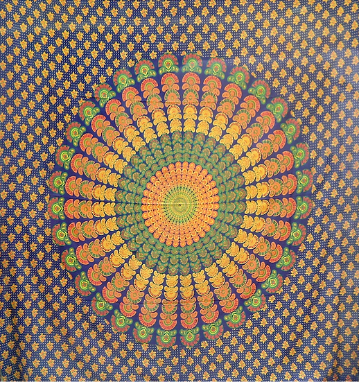 Barmeri Peacock Design (Double)